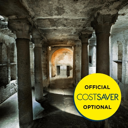Roman catacombs GettyImages 157647363 sep 2019 450x450