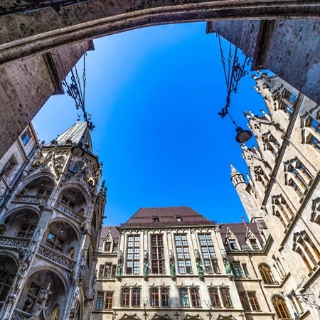 Germany Munich Marienplatz 2016 R 504192398
