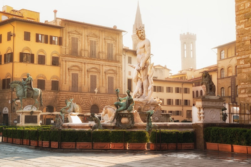 Neptune Fountain, Florence, Italy